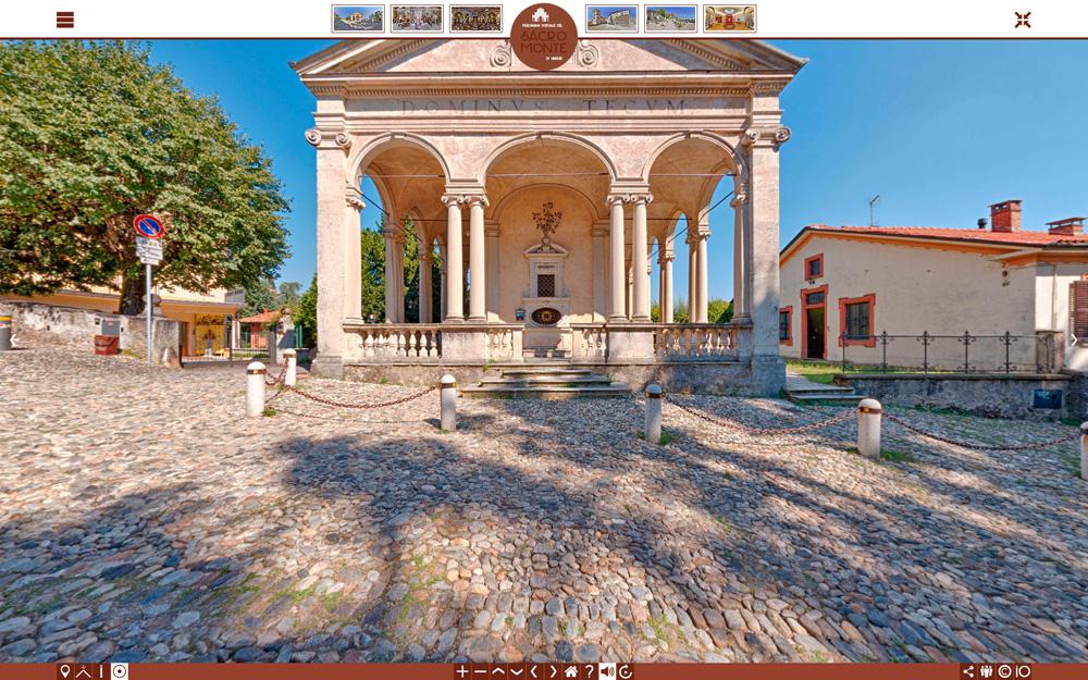"""Online il """"Percorso Virtuale del Sacro Monte di Varese"""""""